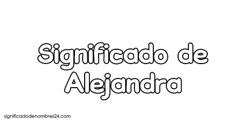 significado de Alejandra