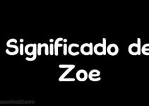 significado de zoe
