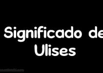 significado de ulises