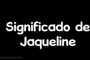 significado de jaqueline