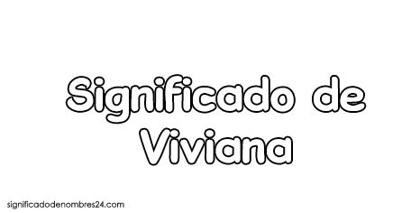 significado de viviana