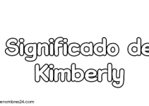 significado de kimberly