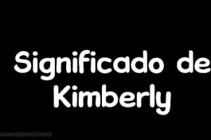 significado de kimberly