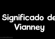 significado de vianney