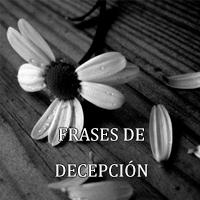 frases de decepcion