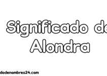 significado de alondra