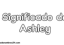significado de ashley