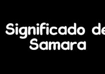 significado de samara