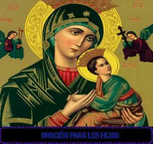 oracion para hijos